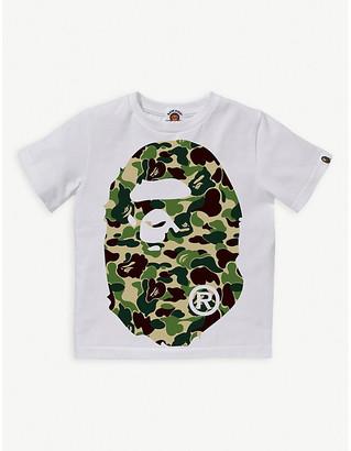 A Bathing Ape ABC Big Ape logo-print cotton T-shirt 4-10 years