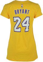 adidas Women's Kobe Bryant Los Angeles Lakers Player T-Shirt