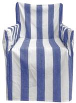 Al Fresco Striped Cotton Chair Cover