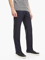 Valentino Navy Mohair-blend Trousers