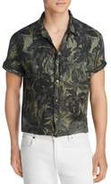 The Men's Store at Bloomingdale's Short-Sleeve Tropical-Print Classic Fit Shirt - 100% Exclusive