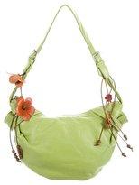 Blumarine Leather Shoulder Bag
