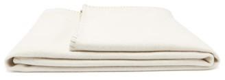 Johnstons of Elgin Johnston's Of Elgin - Reversible Wool-blend Blanket - Beige