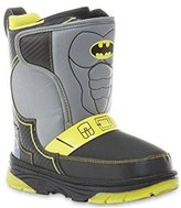Batman DC Comics Boys' Winter Boot (13 M (US) Little Kids)