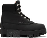 Acne Studios Black Telde Hiking Boots