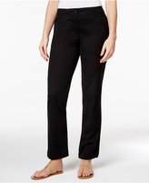 Karen Scott Straight-Leg Pants, Only at Macy's