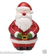 Martha Stewart Collection Martha Stewart Christmas Table Decoration Santa Claus Cookie Jar Vintage Holiday