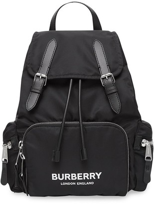 Burberry The Medium Rucksack in Logo Print ECONYL®