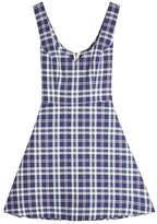 Natasha Zinko Printed Cotton Mini Dress