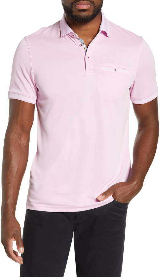 24f1411a Ted Baker Pink Fitted Men's Shirts - ShopStyle