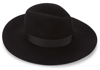 Saks Fifth Avenue Wool Wide-Brim Fedora