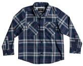 Quiksilver Boy's Fitzspeere Plaid Flannel Shirt