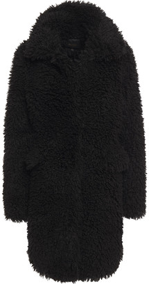 Maje Faux Shearling Coat
