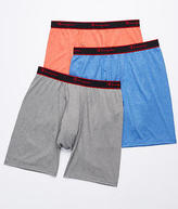 Champion Active Performance Long Leg Boxer Brief 3-Pack Underwear, Activewear