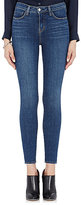 L'Agence Women's High-Rise Skinny Jeans-NAVY