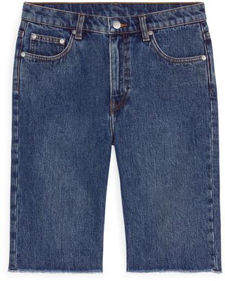 Arket SLIM Denim Shorts