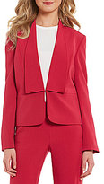 Preston & York Tricia Shawl Collar Stretch Crepe Jacket