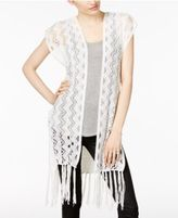 INC International Concepts Knit Vest, Created for Macy's