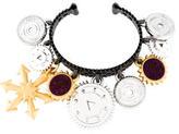 Eddie Borgo Charm Cuff Bracelet