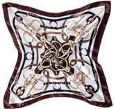 "DGFA INC 19.5"" Ladies Silk Like Small Neckerchief Square Scarf Gift Idea"