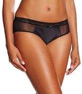 Lovable Women's Slip Ring Revolution Underpants, Black (004-Nero )