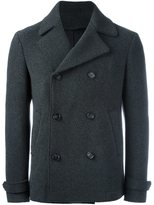 Z Zegna double breasted coat - men - Polyamide/Cupro/Wool - 50