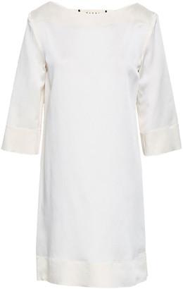 Marni Satin-crepe Mini Dress