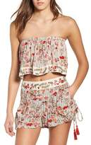 Raga Primrose Floral Print Shorts