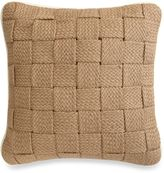 Bed Bath & Beyond Panama Square Throw Pillow in Hemp