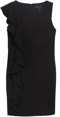 DKNY Ruffle Side Sheath Dress