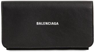 Balenciaga CASH LEATHER CONTINENTAL WALLET