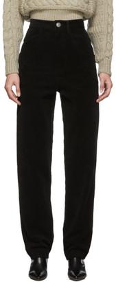 Isabel Marant Black Moleskine Debora Trousers