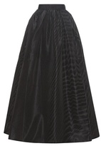 Marc Jacobs Pleated Silk-moiré Skirt