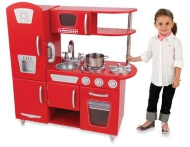 Kid Kraft Vintage Kitchen in Red