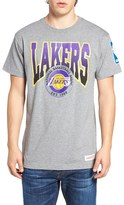 Mitchell & Ness Men's Lakers Graphic T-Shirt