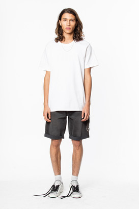 Zadig & Voltaire Ted Skull Block T-Shirt