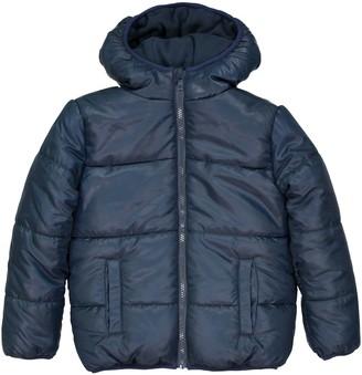 La Redoute Collections Fleece-Lined Padded Jacket with Hood, 3-12 Years