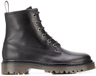 A.P.C. Izz combat boots