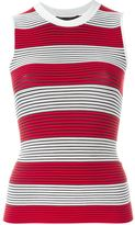 Alexander Wang striped tank top - women - Nylon/Spandex/Elastane - M