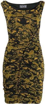 Versace Jeans Couture Paisley Print Pencil-Skirt Dress