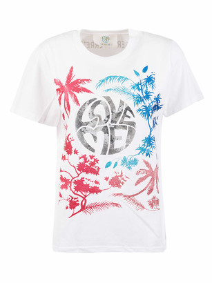 Alberta Ferretti Tropical Love Me! Print T-shirt