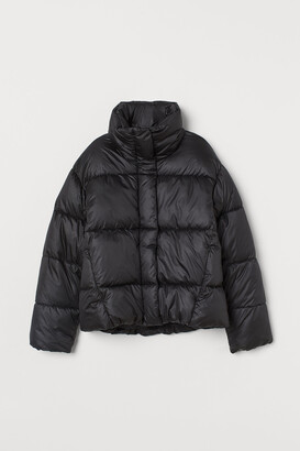 H&M Stand-up collar puffer jacket