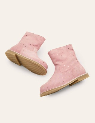 Cosy Short Leather Boots