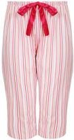 Yours Clothing YoursClothing Plus Size Womens Nightwear Ladies Stripe Print Pyjama Bottoms