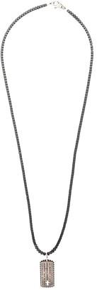 Nialaya Jewelry Cross Tag Necklace