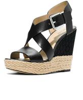 Michael Kors Black Wedge Sandal