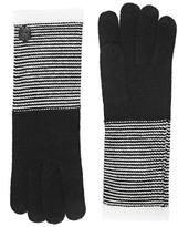 Vince Camuto Striped Gloves