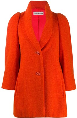 Issey Miyake Pre Owned Relaxed Fit Coat