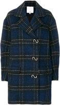 Tibi plaid coat