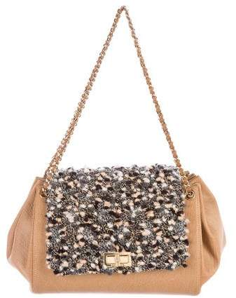 Chanel Tweed Accordion Flap Bag